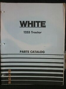 Oliver Minneapolis Moline Cockshutt 1255 White Tractor Parts Book Manual Factory