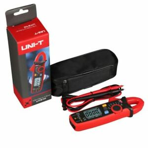 Uni t Ut210e Digital Clamp Meter Multimeter Tester Rms Ac dc Ohm Resistance New