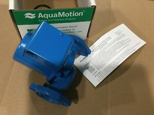 Brand New Aquamotion Am7 f1 Cast Iron Circulator Pump 12 125 Hp
