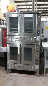 Used Blodgett Fa 100 Double Stack Nat Gas Convection Oven