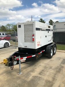 2010 Multiquip Dca125usi 100kw Diesel Generator Load Bank Tested