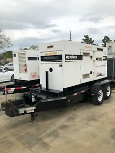 2010 Multiquip Dca220 Tier 3 Diesel Generator 175kw Load Bank Tested