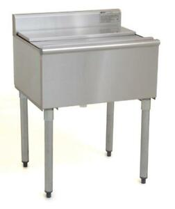 Commercial Stainless Steel Underbar Ice Bin 24 X 20 X 8