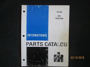 International Ih 674 Tractor Parts Manual Catalog Book Factory Original 1978 Oem