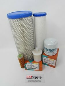New Service Kit For Grasshopper 22 Hp 25 Hp Diesel Engines Oil Air Fuel Filters