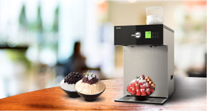 New Afternoon Cim 255wt Flake Ice Shaved Ice Maker Machine Water Cooling Type