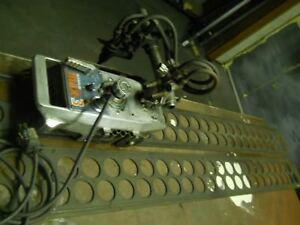 Powered Acyeletene And Oxygen Straight Line Flame Burner With 12 Track