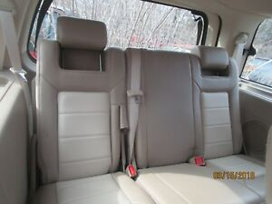 03 06 Expedition Tan Leather Driver Passenger 3rd Third Row Split Bench Seat