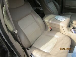 03 06 Expedition Tan Leather Right Front Passenger Bucket Power Seat Track Oem