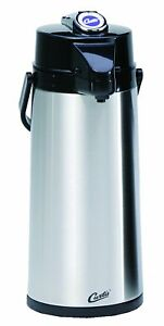 Curtis Tlxa 22 Thermopro Thermal Coffee Air Pot 2 2l Blue Dented Box