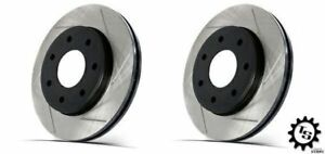 Stoptech Front Slotted Rotors Brembo Calipers For 03 09 Infiniti G35 Nissan 350z