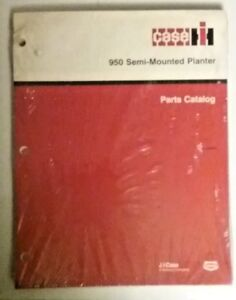 Case 950 Semi mounted Planter Parts Catalog Rac 8 9630 Box8