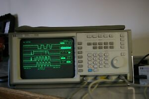 Hp Agilent 54503a 500 Mhz 4 Channel Digital Oscilloscope Cal d W Probe Nice Dso