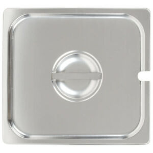 2 3 Size Stainless Steel Slotted Steam Table Hotel Pan Lid Cover