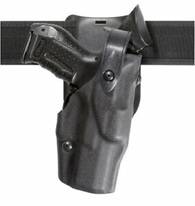 Safariland 6360 283 411 Als Level Iii Duty Holster Stx Black Rh Fits Glock 19