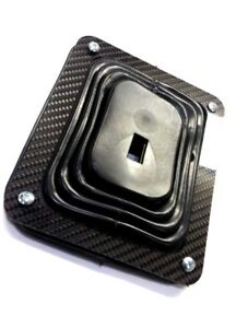 Universal Hurst Style Carbon Fiber Shifter Boot Cover Only 5 1 4 X 6 1 2
