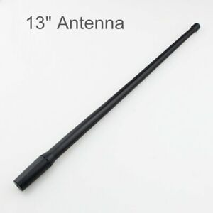 Durable 13 Antenna Black Amplify Booster Am Fm For Most Car Truck Vehicle