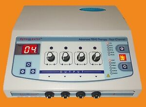 Physical Therapy Equipment 4 Ch Electrotherapy Dyno Pulse Easy Use Ce1