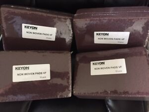 Mirlon 6 X 9 Maroon Scuff Pads Non Woven Auto Body 40 Pads 10 Pack 4 Packs