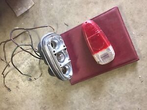 Alfa Romeo Giulietta Sprint Tail Light Assembly Complete With Used Lense