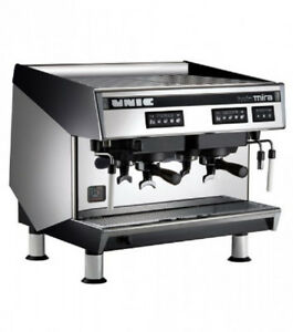 Espresso Machine Cappuccino 2 Group Automatic Unic Twmira
