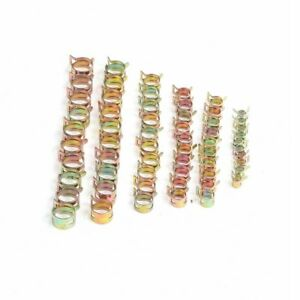 60pack Spring Clips Fuel Hose Line Water Pipe Air Tube Clamps 7 9 10 12 14 15mm