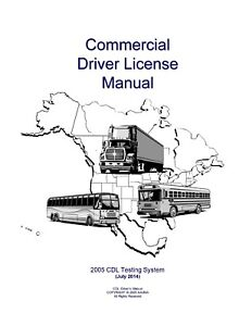PAPER COPY: COMMERCIAL DRIVER MANUAL FOR CDL OKLAHOMA - ENGLISH $24.95