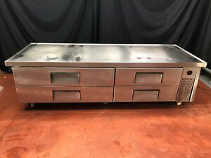 True 82 Trcb 82 Commercial Refrigerated Chef Base Drawer Cooler Equipment Stand