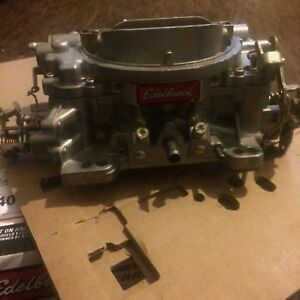 Edelbrock 8867 1405 600cfm Four Barrel Carburetor Couple Hundred Miles