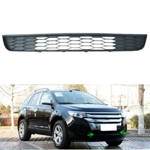 For Ford Edge 2 0 3 5 2011 2014 Black Plastic Front Lower Grill Grille Vent 1pc
