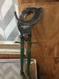 Greenlee 760 Compact Ratchet Cable Cutter