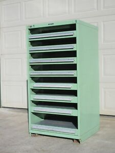 Stanley Vidmar Storage Cabinet Pull Out Shelf For Fixtures And Dies Lista Lyon