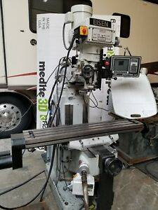 Exacto Vertical Mill With Prototrak Mx2 2 axis Cnc Controller