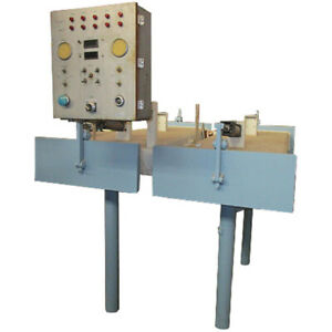 Used Double Vacuum Box With Control Panel For Sealing Small Cans