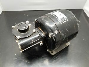 Bodine Electric Co Gear Motor Nsh 54rl 586tz2056 115 Volts