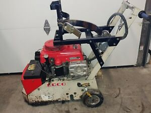 Edco Concrete Grinder Surfacer Breaker Dy1 p 11hp Elec Start