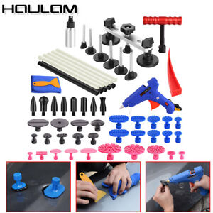 40 Car Paintless Hail Repair Pdr Dent Lifter Glue Puller Ding Removal Tool Kit