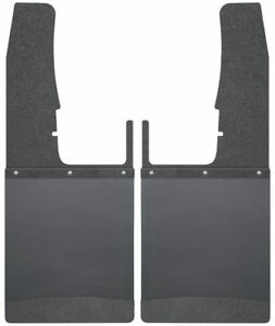 Husky Liners Kick Back Mud Flaps Front 12 Wide For Ram 1500 2500 3500