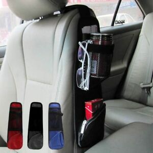 New Car Seat Side Back Storage Organizer Multi Pocket Holder Bag Backseat