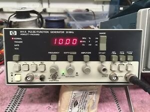 Hp8111a 20mhz Pulse function Generator Tested