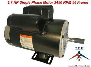 Husky 60 Gallon Vt6314 Replacement Motor 3 7 Hp 3450 Rpm Single Phase Spl 56t