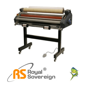 Royal Sovereign Rsc 1050clrb 41 Cold Roll Wide Format Laminator Showroom Demo