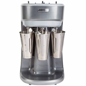 Hamilton Beach Hmd400 Triple Spindle Commercial Drink Milkshake Malt Shake Mixer