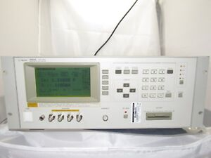 Agilent hp 4284a 20 Hz 1 Mhz Precision Lcr Meter W Opt 001 006