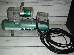 Vintage Speedaire Direct Drive Air Compressor W Tank