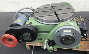 Walter 20 Rotary Table Tilting Rts 500 Axis Indexer Machinery Dc Speed Control