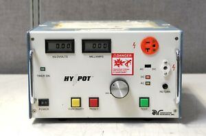 Associated Research Ac dc Hypot Ground Continuity Test Set 4450dt