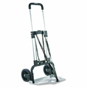 Brand New Stebco Portable Folding Cart 275lbs Capacity Hand Truck Black chrome