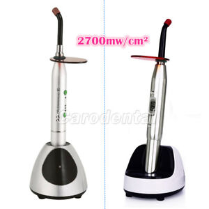 Usps 2 Models Dental Wireless Led Orthodontics Curing Light Metal Shell
