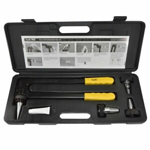Pex Expansion Tool Kit Type A 1 2in 3 4in 1in Expander Heads Grease Case